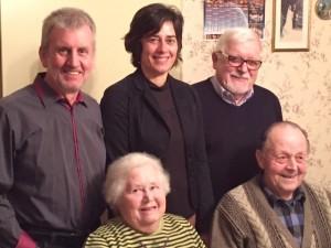 maire et adjoints Anniversiare 85 ans Goetz