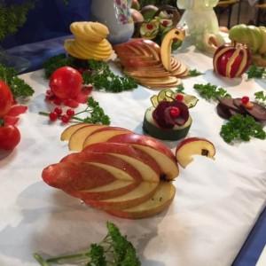 Décos pommes expo 2015